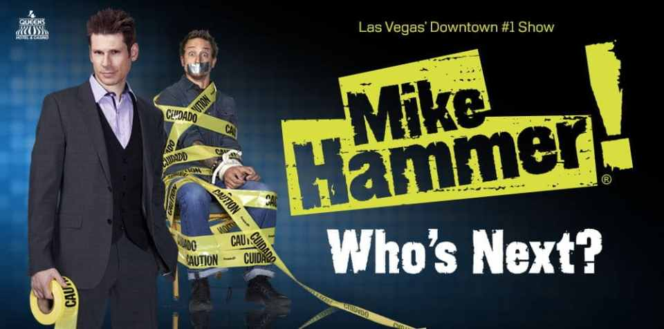 Mike Hammer Comedy Magic Show Las Vegas