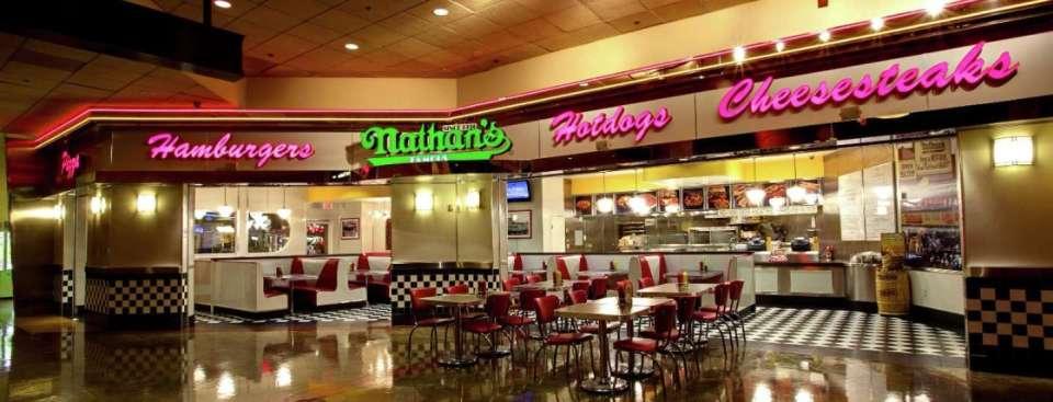 New York New York Las Vegas Nathan's Hot Dogs