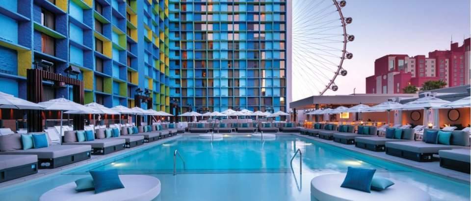 The Linq Las Vegas Pool