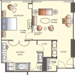 Wynn Las Vegas Parlor Suite Floorplan