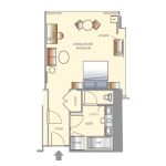 Wynn Las Vegas Tower King Suite Floorplan