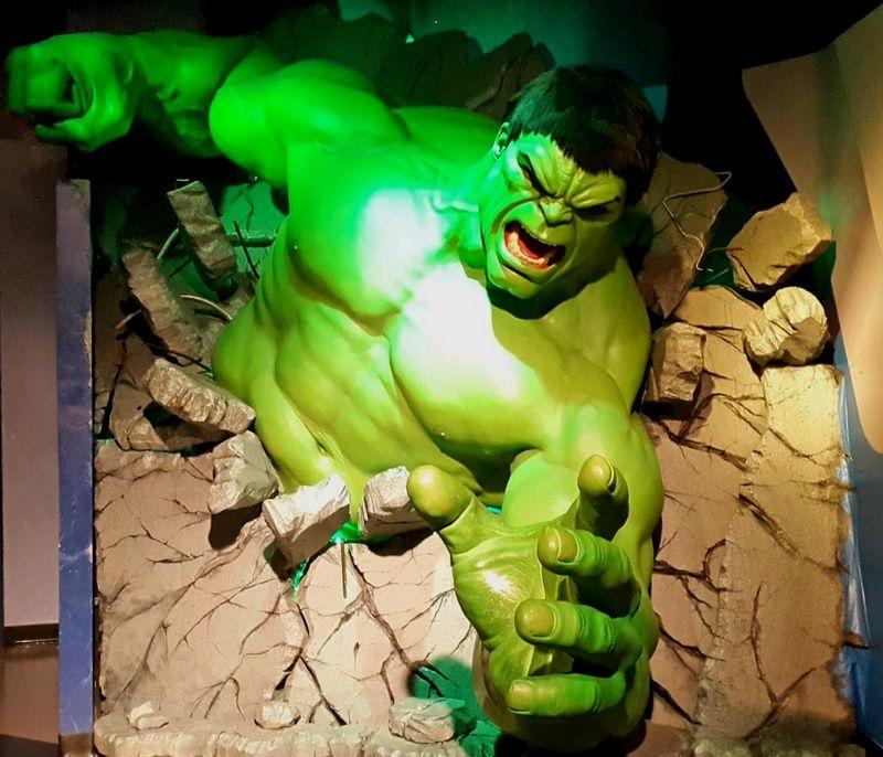 Madame Tussauds Las Vegas Hulk