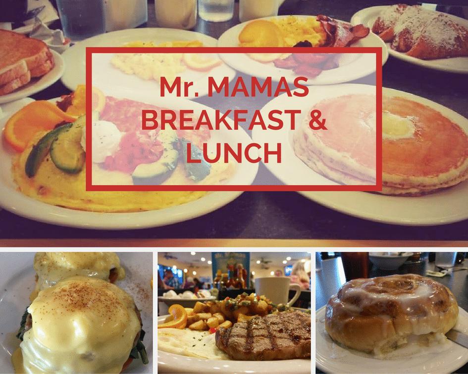 Mr. Mamas Colazione e pranzo a Las Vegas