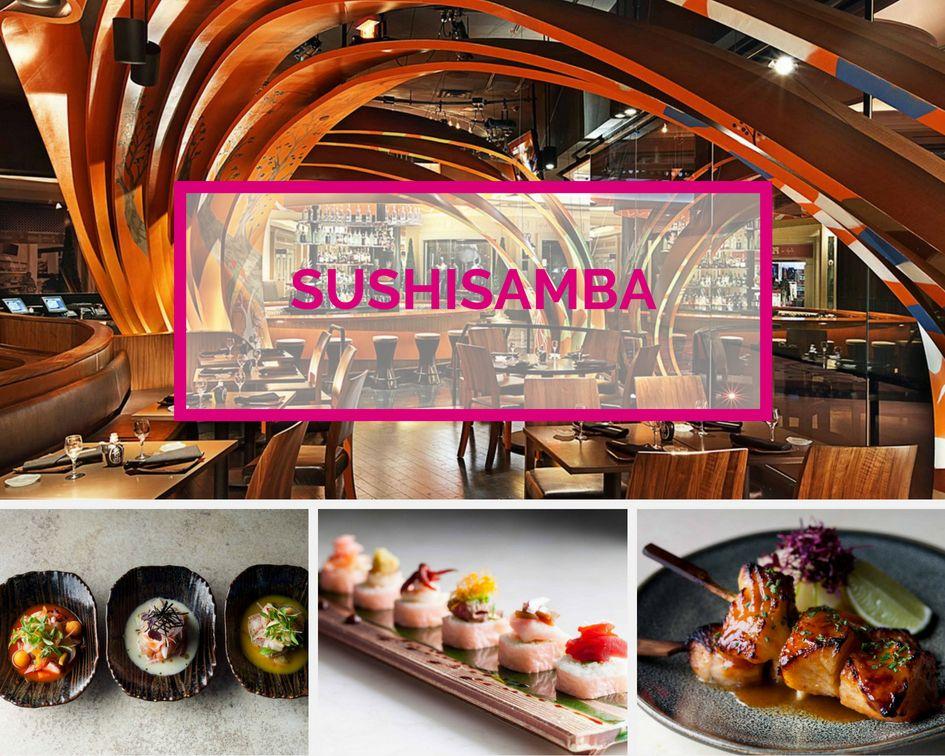 SushiSamba Sushi Venetian Las Vegas