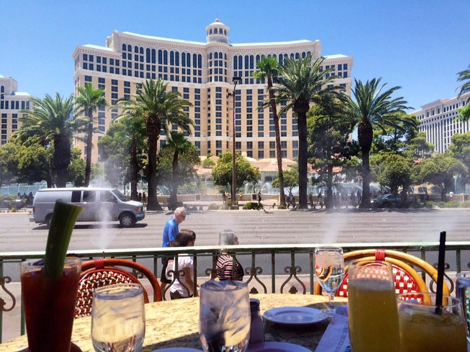 Mon Ami Gabi Patio Las Vegas