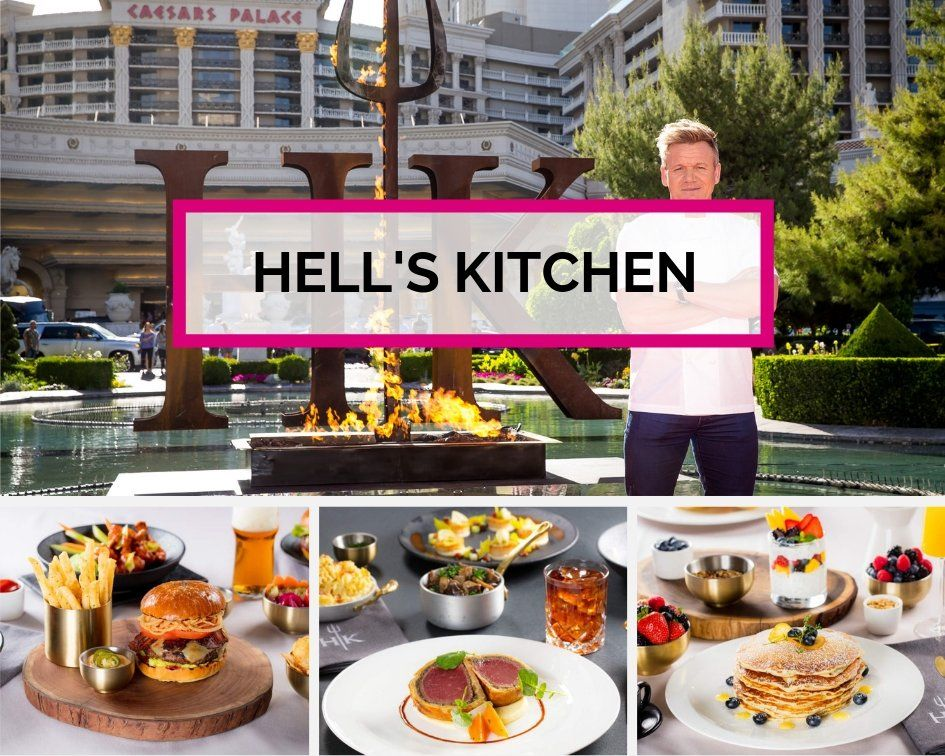 Hell's Kitchen Caesar's Palace Las Vegas
