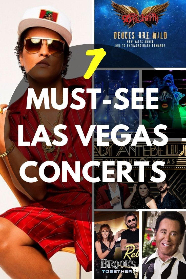 Must-See Las Vegas Concerts That'll Rock Your Socks Off