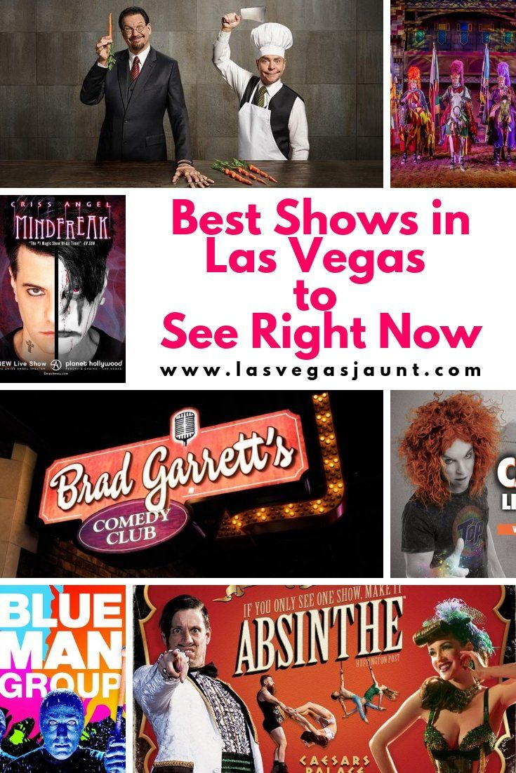 Best Shows in Las Vegas to See Right Now