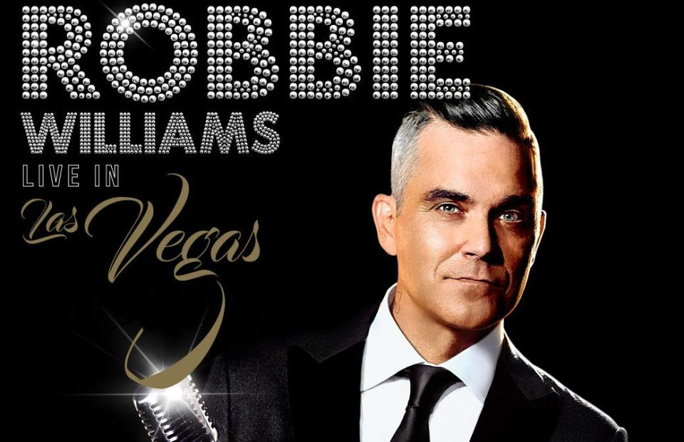 Robbie Williams Wynn Las Vegas