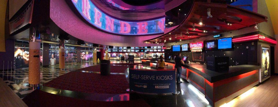 Palms Las Vegas Brenden Movie Theatres