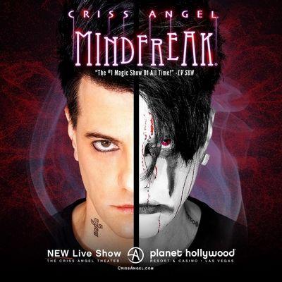 Criss Angel Mindfreak Las Vegas Discount Tickets