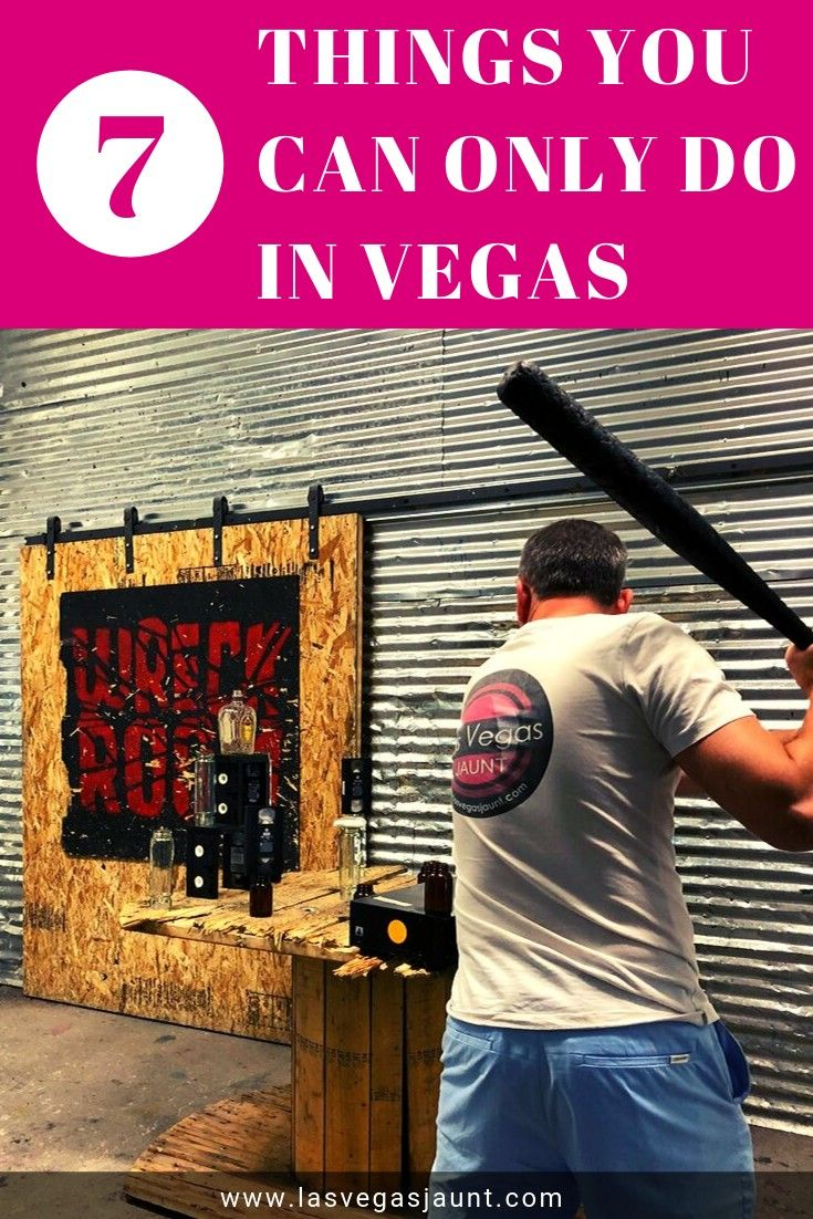7 Things You Can Only Do in Vegas