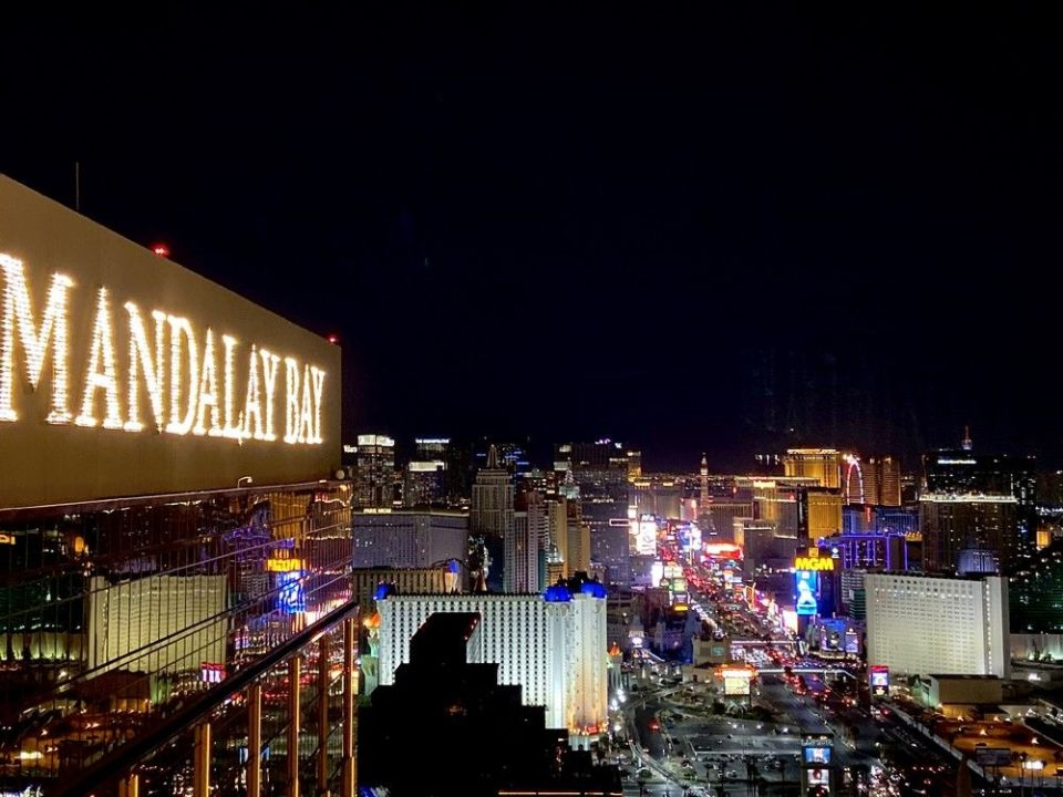 Mandalay Bay Las Vegas Foundation Room Strip View