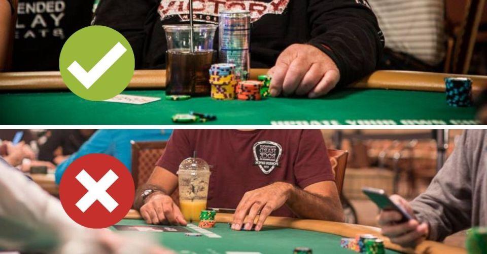 Poker Table Cupholder