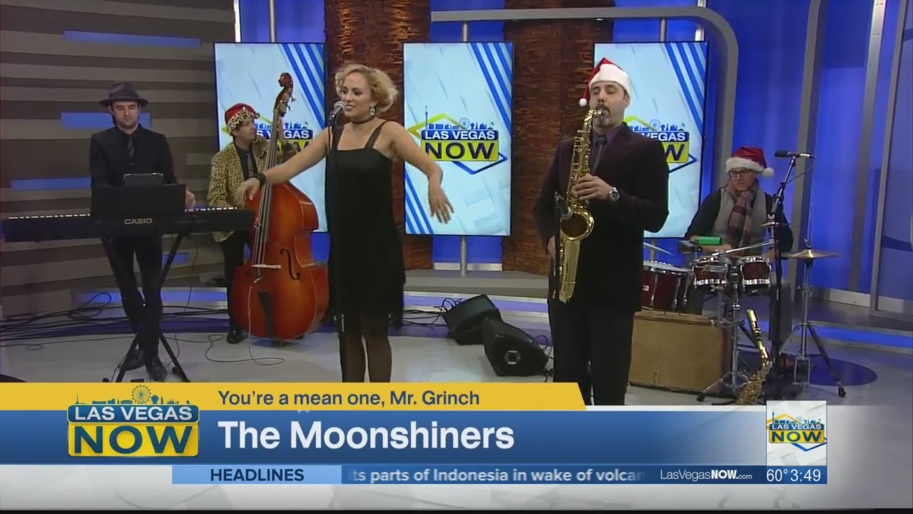 The Moonshiners put a jazzy twist on a classic