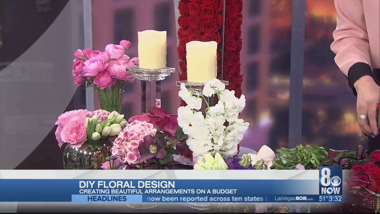 DIY floral design with The Aria