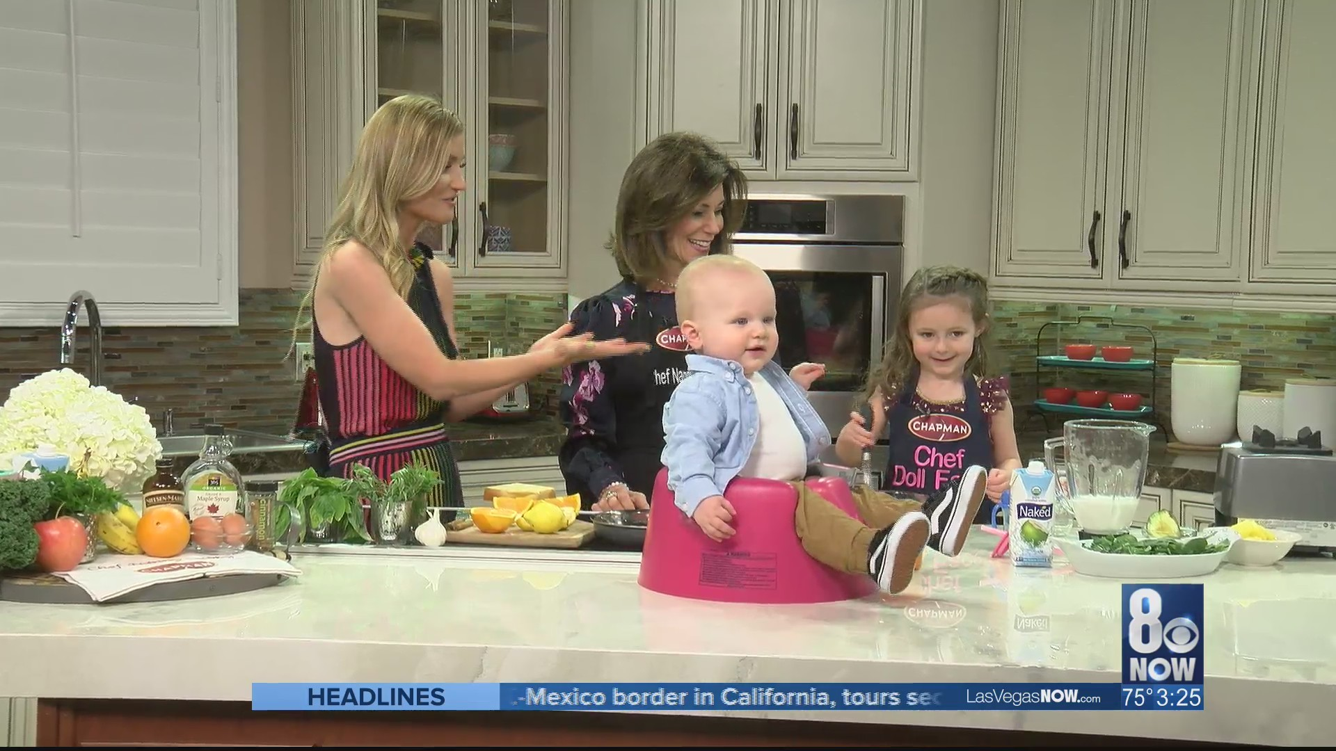 Kids and cooking with Chef Nanny Bubby