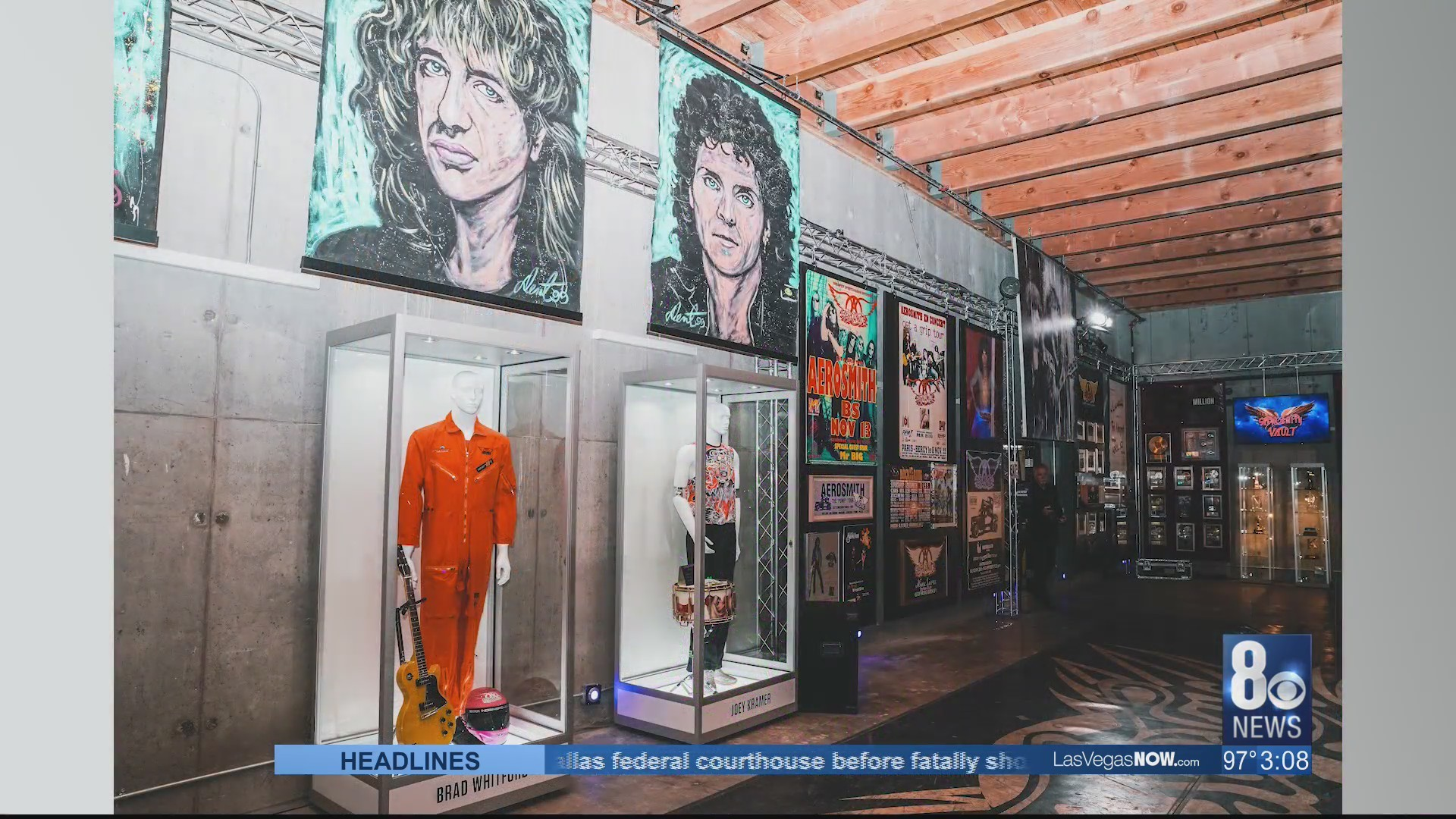 Aerosmith opens their Vegas museum