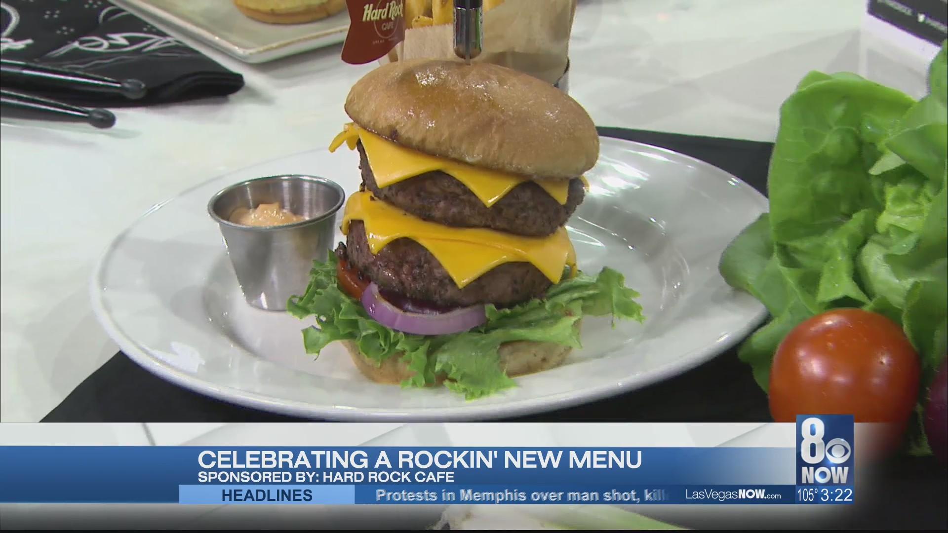 Celebrating a rockin' new menu