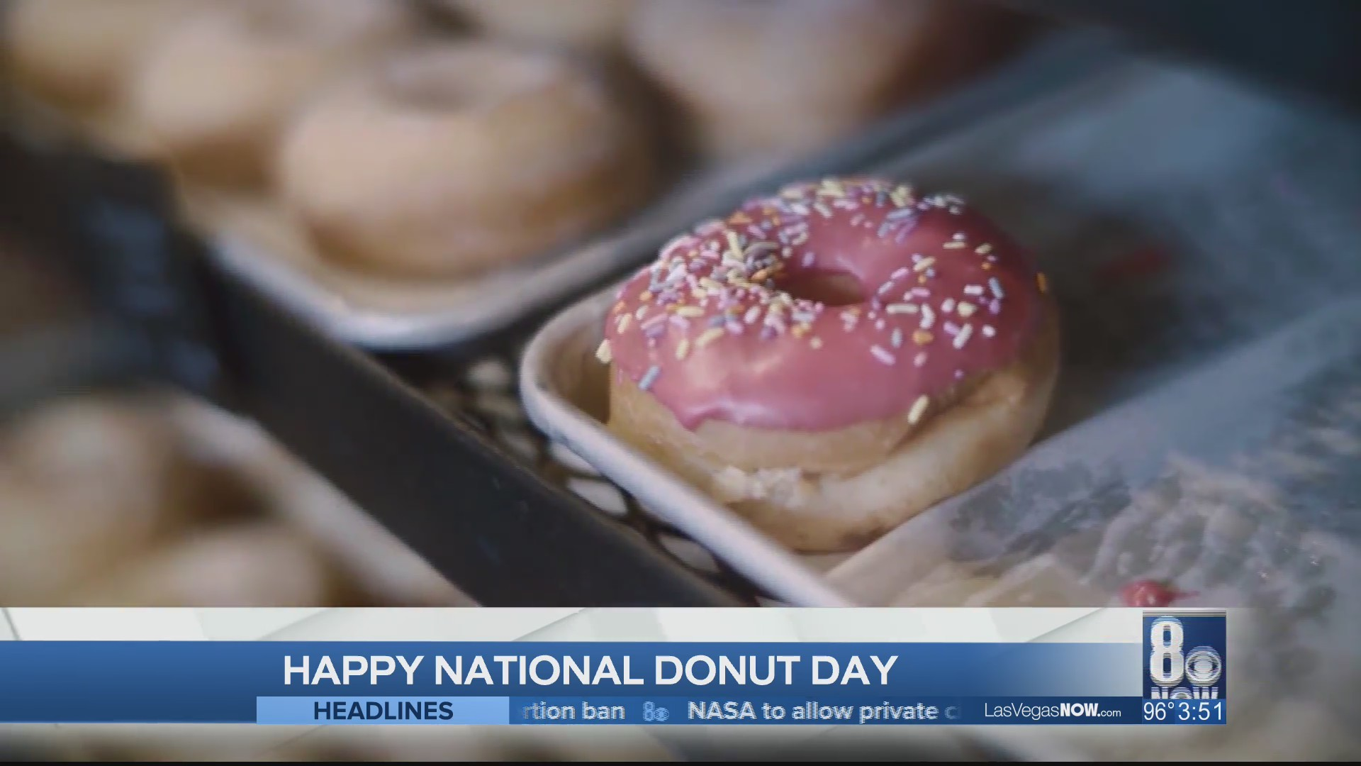 National Doughnut Day with Pinkbox