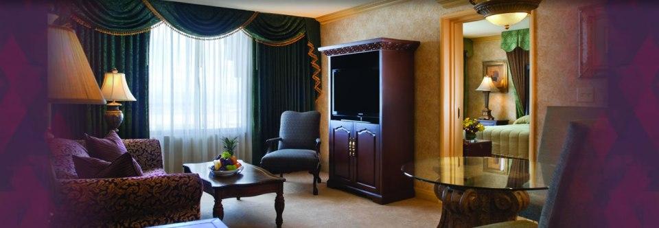 excalibur guest suite