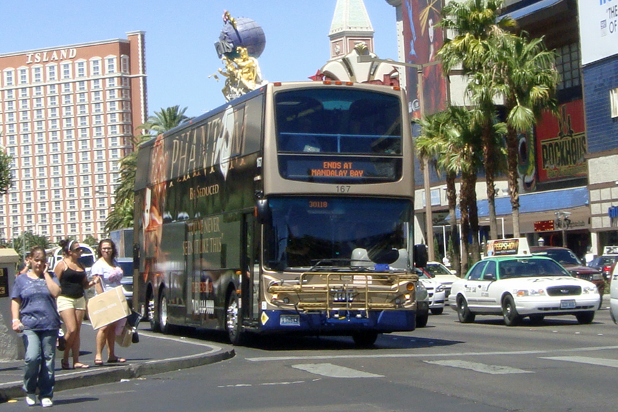 Le bus DEUCE à Las Vegas