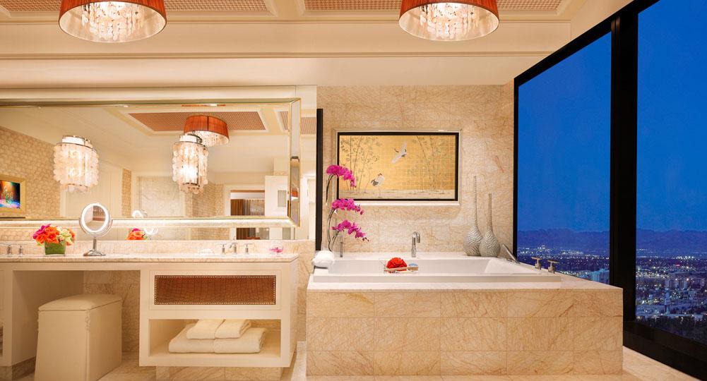 Les 13 suites les plus luxueuses de las vegas for 4 bedroom suite las vegas strip
