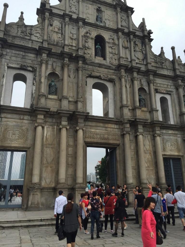 Macao ruines de St Paul