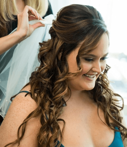 Makeup in The 702 on location Wedding Hair in Las Vegas