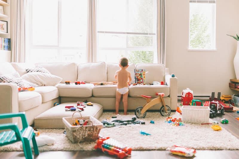 l'aménagement pour lutter contre le stress du désordre de votre maison
