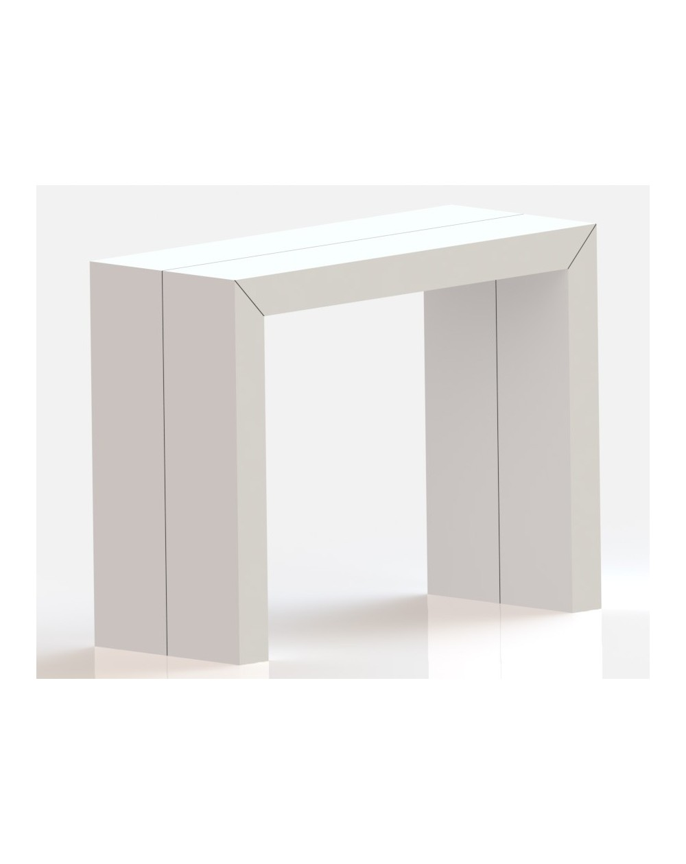 table console extensible moderne en