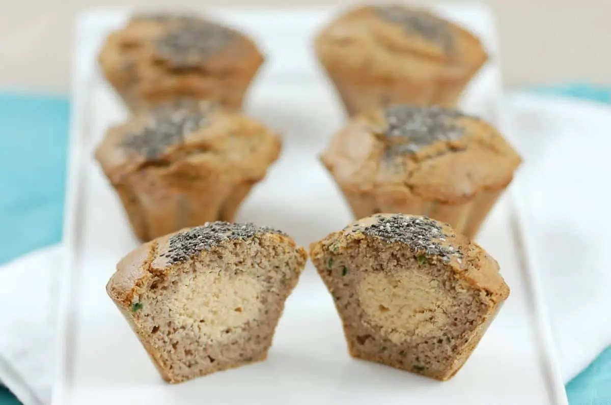 Muffins salés sucrés au tarama