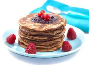 Pancakes à la confiture