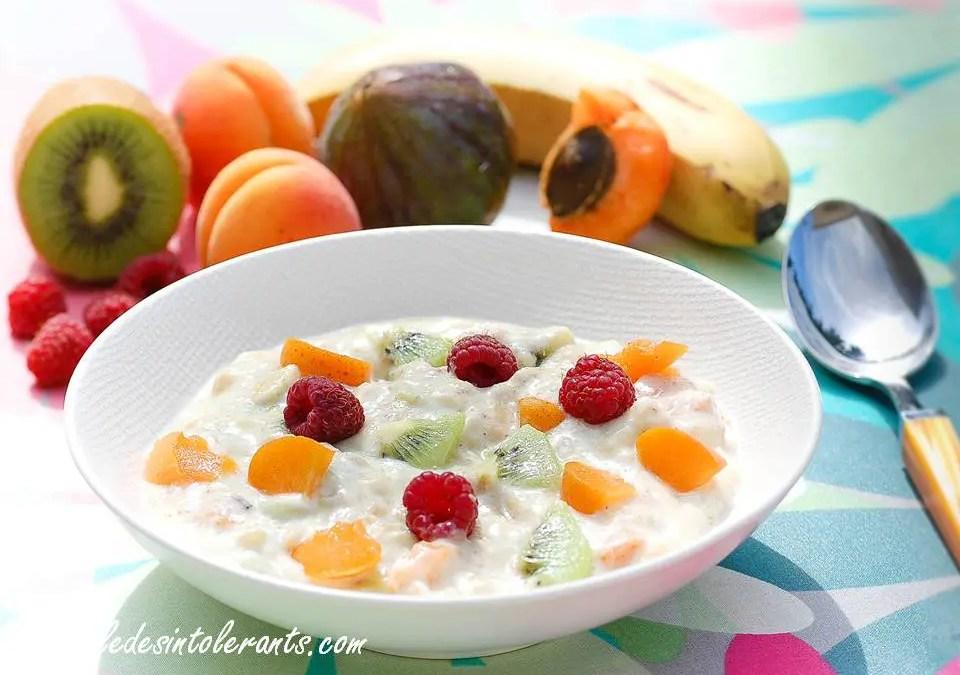 Crème Budwig faible ou sans lactose ou sans lait