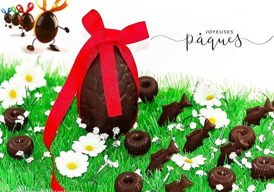 CHOCOLATS DE PÂQUES avec ou sans sucre