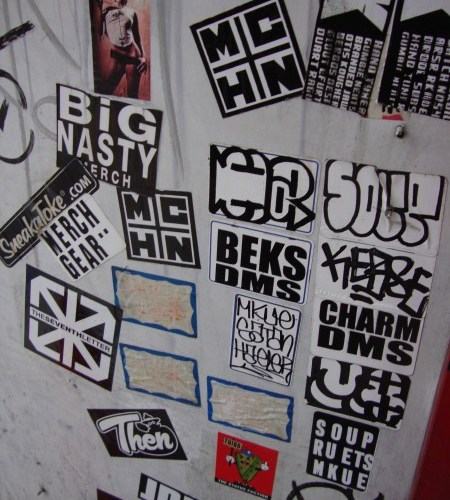 Stickers ~ Downtown Los Angeles ~ L A  TACO