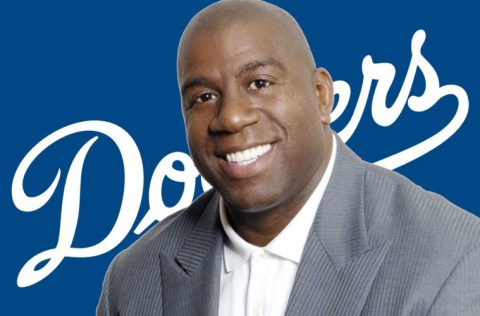 Image result for magic johnson dodgers