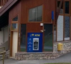 La Tania Cash Point ATM