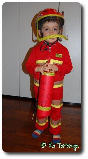 Il costume di carnevale fai da te da pompiere