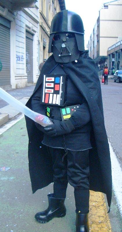 il costume da Darth Vader