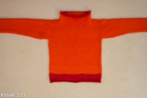 My Seriously-flawed Hand-knit Sweater