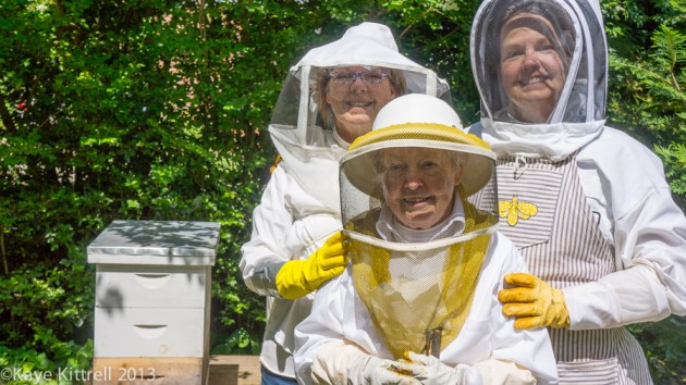 Mother & Daughter Beekeepers, Betty Harvill-Heinz, Mary Jane & Nancy Harvill, Betty's Organic Bee Garden, Arts & Ag