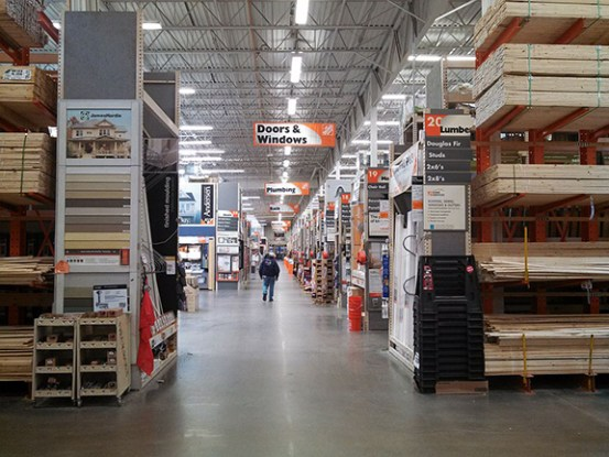 Go Out of Your Way - Part 1, Home Depot - store