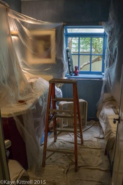 Battening down the hatches - bathroom