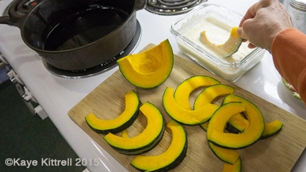 Kabocha Squash Recipes - tempura
