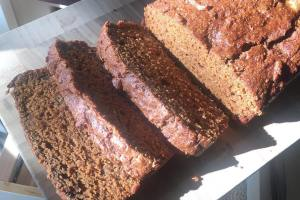 Butternut Squash and Pear Bread