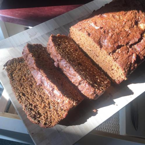 Butternut squash and pear bread - recipe