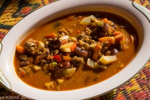 Chili Recipe with Scarlet Runner Beans