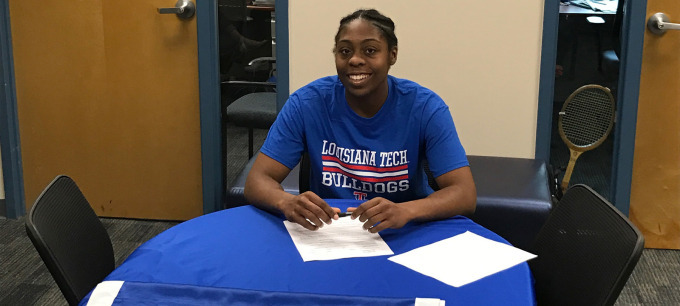 Lady Techsters sign JC forward