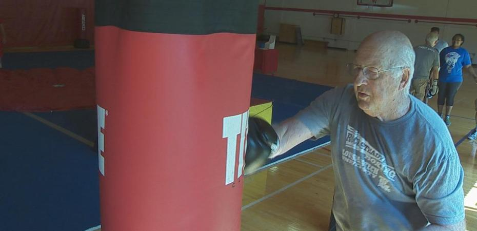 Rock Steady Boxing helps people living with Parkinson's battle the disease